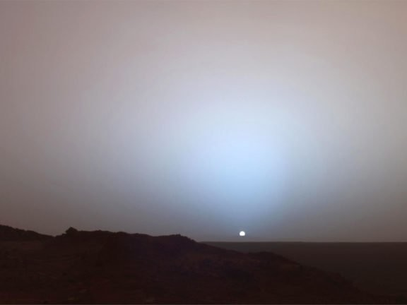 Listen To The Sound Of A Martian Sunrise