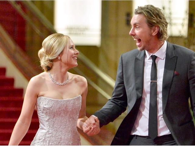 "Dax Shepard Was Freaked Out by Kristen Bell's ""Unbridled Happiness"" When They First Met"