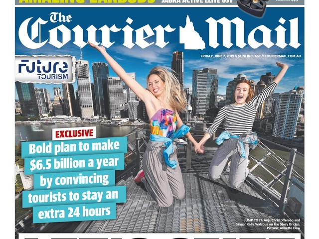 News Corp throws weight behind a Queensland bid for the 2032 Olympics in tourism campaign