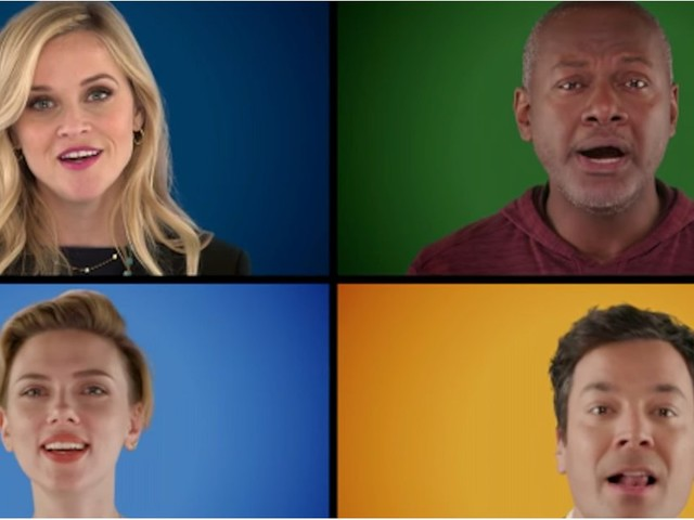 "Reese Witherspoon, Matthew McConaughey, and More Stars Sing ""Wonderful Christmastime"" A Cappella"
