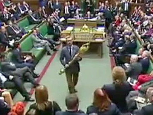 An MP tried to steal the mace from the UK House of Commons, but let's not lose our heads