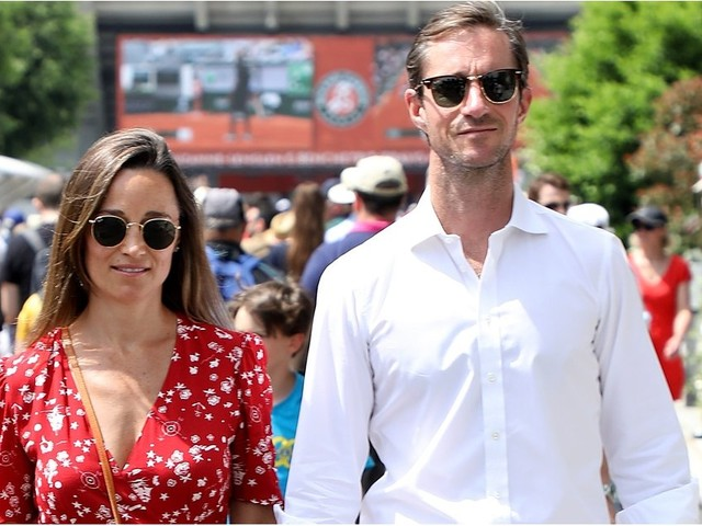 Pippa Middleton's Maternity Style Is So Sophisticated, Someone Needs to Give Her a Crown