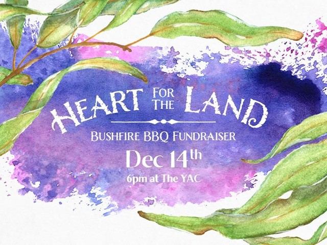 Heart for the Land – Bushfire BBQ Fundraiser