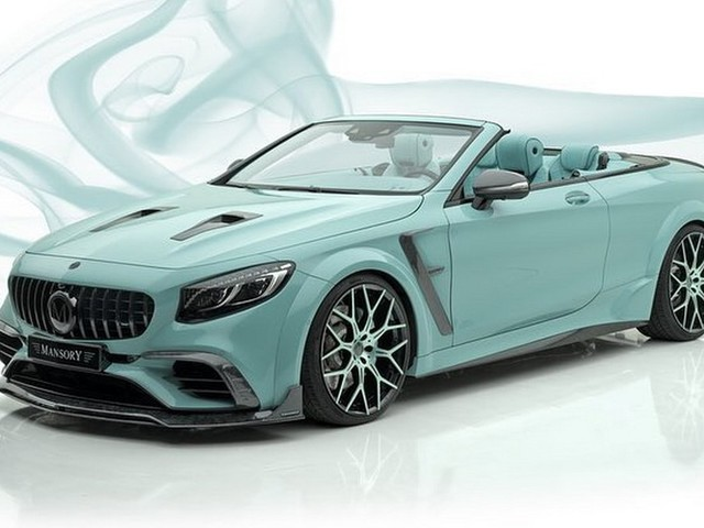 Mansory's Mercedes-AMG S63 Cabriolet Is One Minty Tuned Car