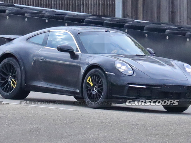 Does This Look Like A New Porsche 911 Safari To You?