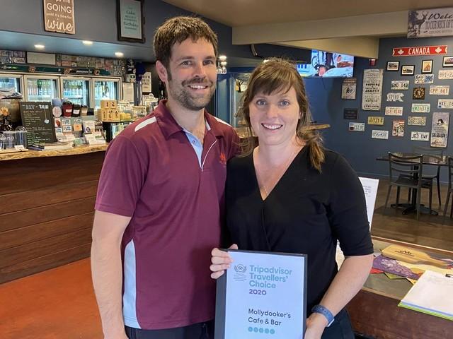 Happy customers eh? Region's Canadian cafe wins big
