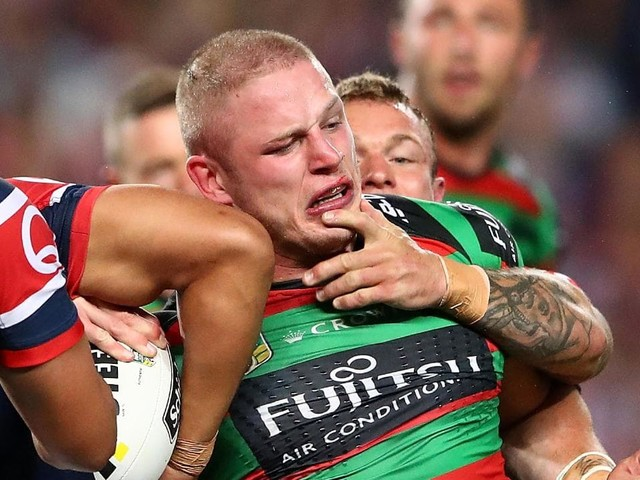 South Sydney say George Burgess is going nowhere despite approaches from Parramatta