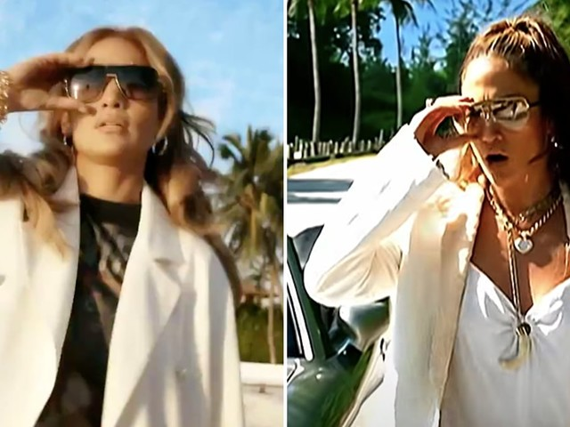 "Jennifer Lopez Celebrates 20 Years of J.Lo by Re-Creating Her ""Love Don't Cost a Thing"" Video"