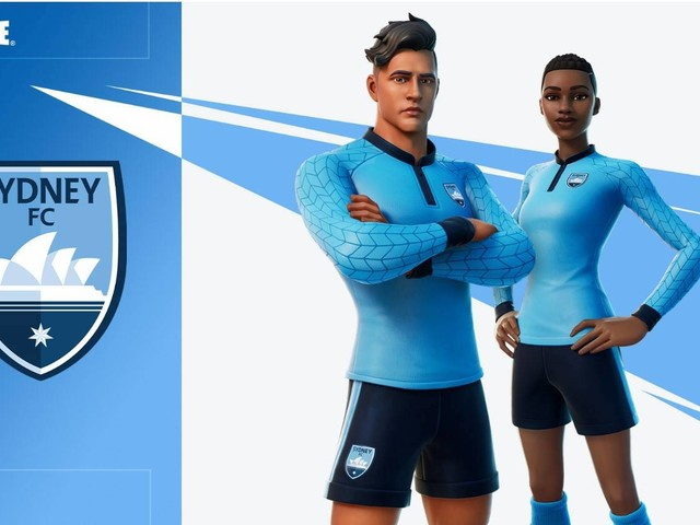 Epic Games and the A-League bring team kits to Fortnite