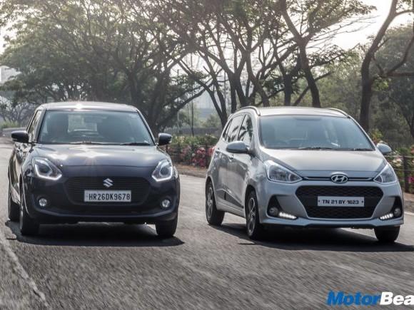 Maruti Swift vs Hyundai Grand i10 – Shootout
