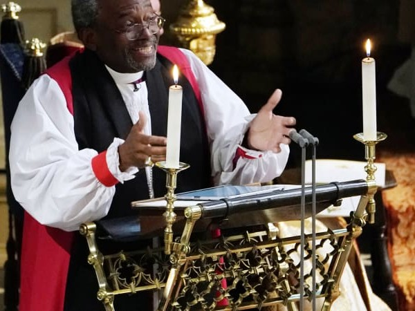 'This was raw God' says Welby of US preacher's royal wedding talk