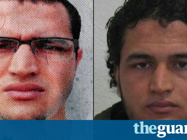 Berlin attack suspect Anis Amri believed still to be in city