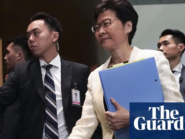 China draws up plan to replace Carrie Lam as Hong Kong protests drag on – report