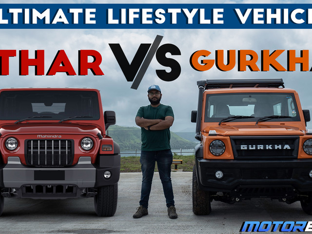 Force Gurkha vs Mahindra Thar – What Should You Buy? [Video]