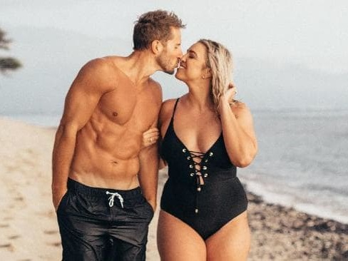 'Curvy girl' married to 'Mr 6-Pack' responds to trolls