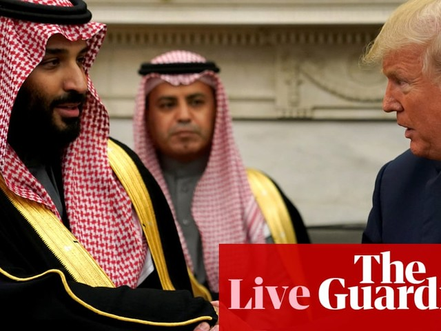 Democrats investigate 'White House plan' to share nuclear technology with Saudi Arabia – live