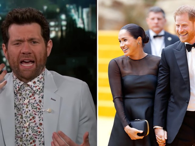 """Billy Eichner Says the Protocol For Meeting Prince Harry and Meghan Markle Was . . . """"Intense"""""""
