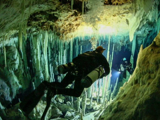 Inside The 'Wild And Almost Unimaginable' World Of Cave Diving