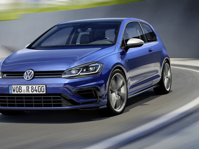 2017 Volkswagen Golf R revealed with new looks, more power