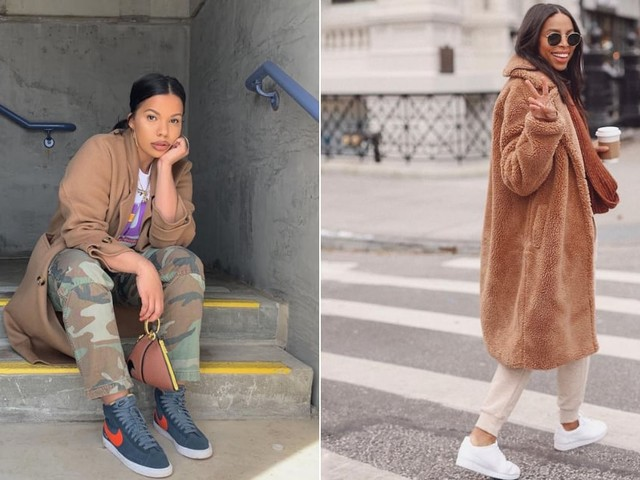 4 Easy Winter Outfits to Wear When It's Such a Sneaker Day