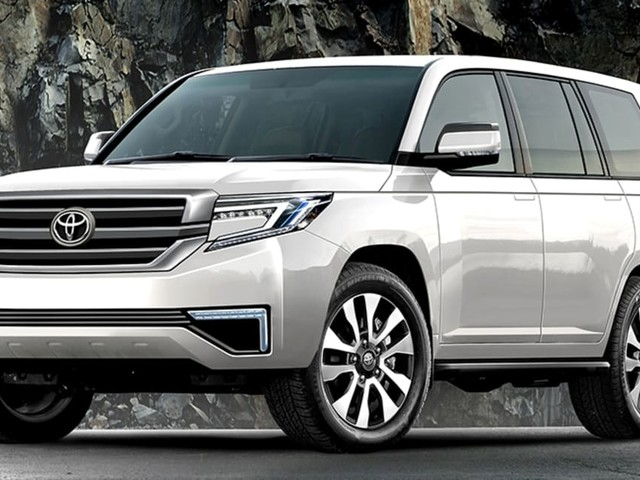 Toyota Land Cruiser 300 Series not hardcore enough for you? New GR variant could take on the AMG G63