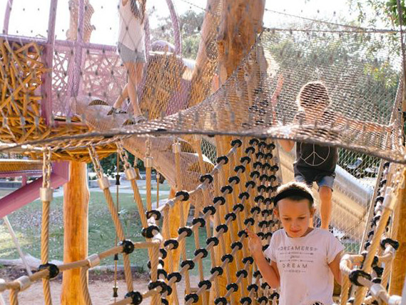 Byron Shire Council creates awesome playgrounds for kids!