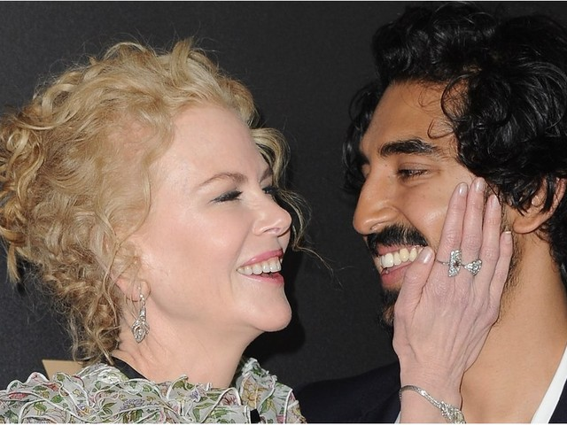 Nicole Kidman Has a Soft Spot For Dev Patel, and She Isn't Afraid to Show It