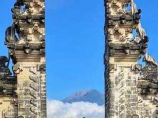Photo lie angers Bali tourists