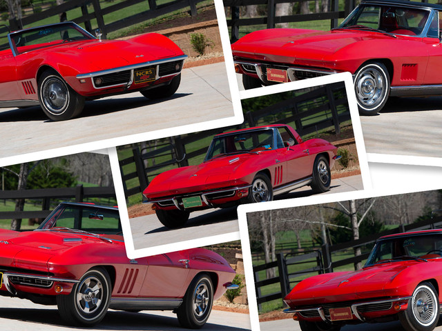 This Guy Loved Red Convertible Corvettes So Much That He Had Six Of Them