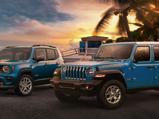 Jeep Revives The Islander Name For Special Edition Wrangler And Renegade