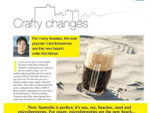 Microbreweries in Australia: Who Needs the Beach with These Crafty Changes?