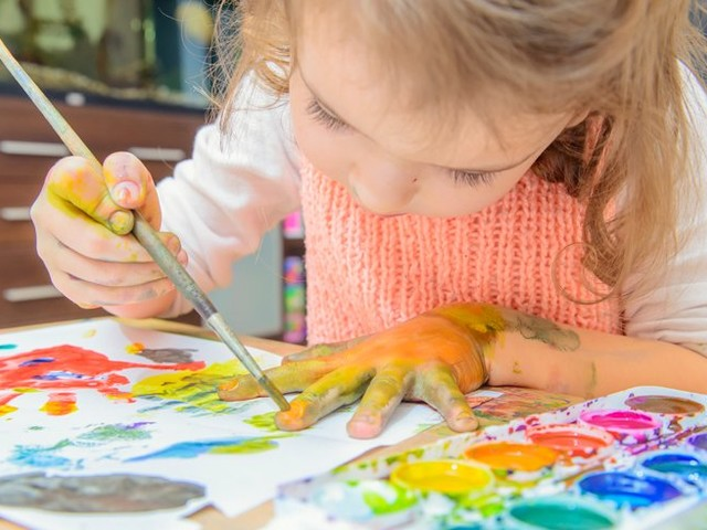 Homemade painting fun! 8 easy edible paints you can make at home