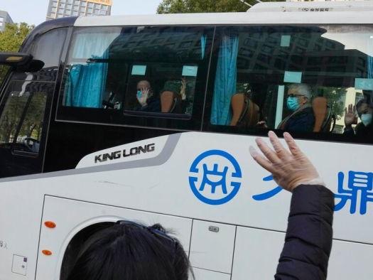 WHO team in Wuhan departs quarantine to begin COVID-19 origins study