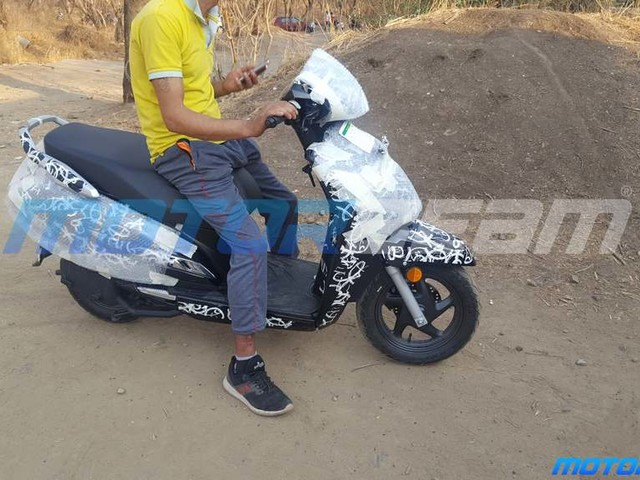 Honda Activa 6G Spotted On Test