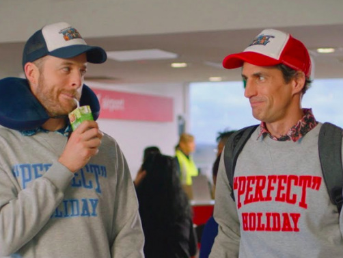 Watch The First Trailer For Hamish & Andy's Bonkers New Travel Show 'Perfect Holiday'