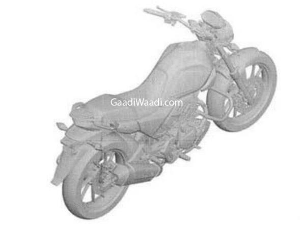 Hero 200cc Bike Under Works, Patent Leaked