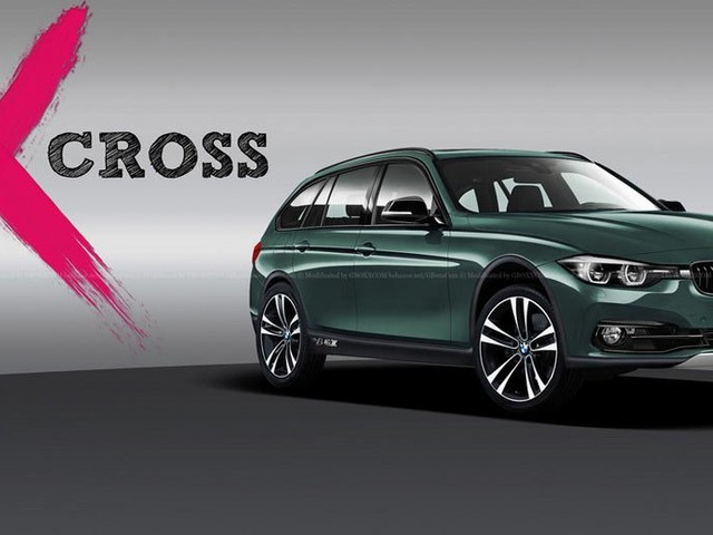 BMW 3-Series X-Cross Render Looks Like It Could Fill A Need