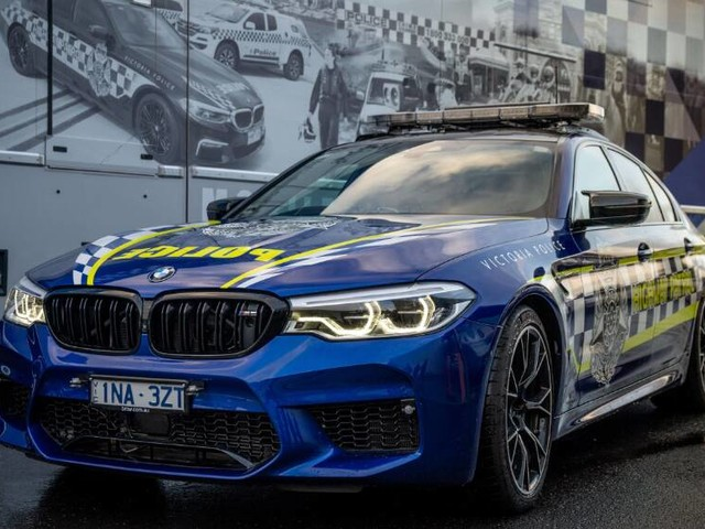 Australia's fastest police car! BMW M5 Competition joins the Highway Patrol fleet in Victoria