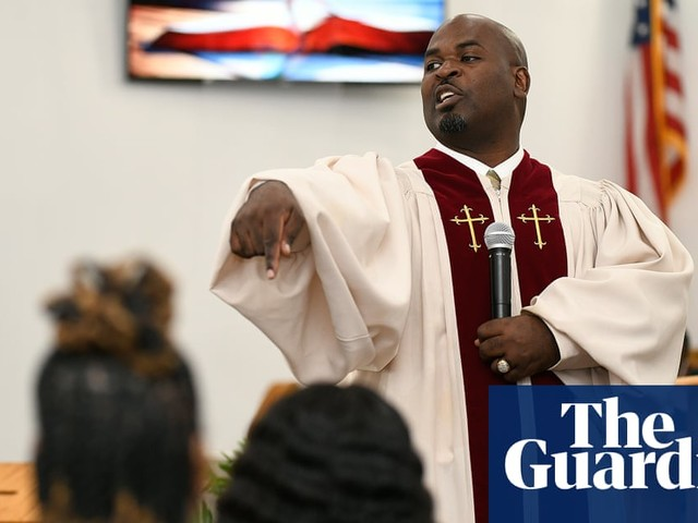 'Mask it, vax it or choose the casket': the pastor and barber urging his community to get vaccinated