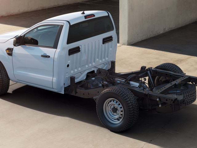 Ford Launches Ranger Chassis Cab Truck In Europe For Special Conversions