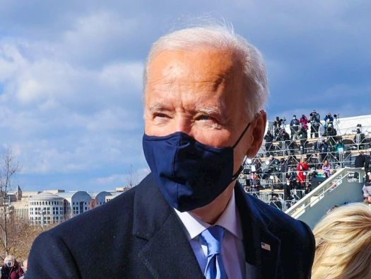 Biden inherits a deeply divided America, perhaps that's why he gave a nod to Lincoln