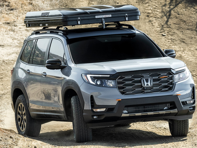 2022 Honda Passport TrailSport Rugged Roads Project Is Bathed In Unique Accessories