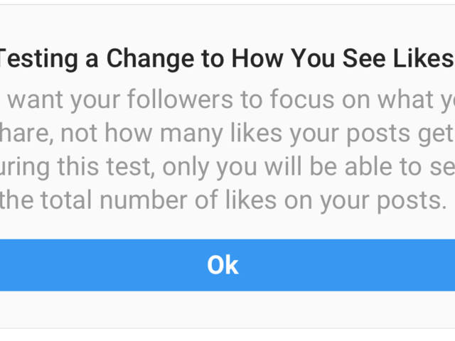 Instagram removes likes for Australian users in second global test