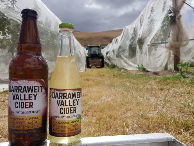 Combining elements of beer and cider, Darraweit Valley Cider have bottled the best of both worlds