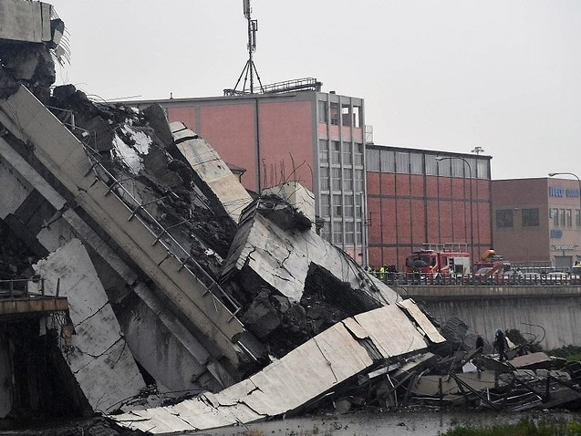 Death toll climbs in Italian bridge collapse