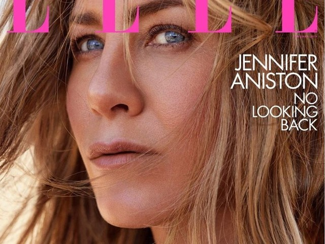 Jennifer Aniston covers January 2019 issue of ELLE