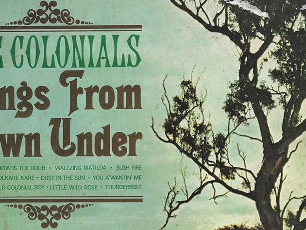 "The Colonials ""Songs from Down Under"" LP 1967"