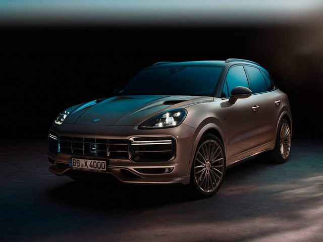 TechArt's 640PS Porsche Cayenne Turbo Is Wild On The Outside, Cozy Inside
