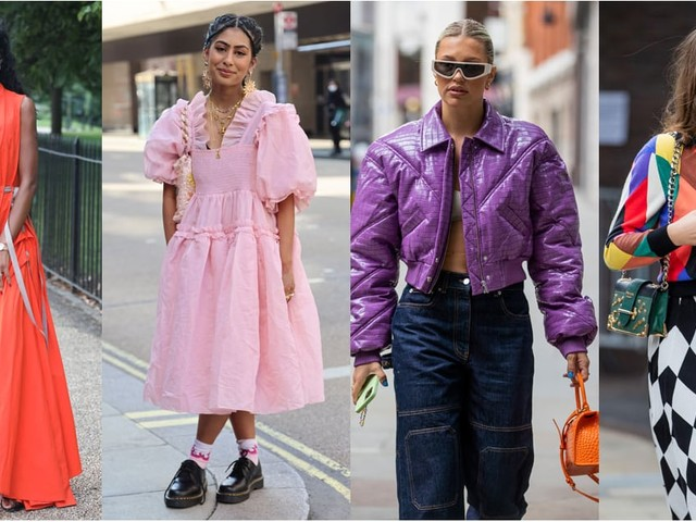 Bold Color Is the Unofficial Dress Code at London Fashion Week