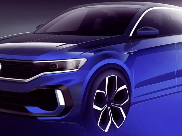 2019 Volkswagen T-Roc R teased